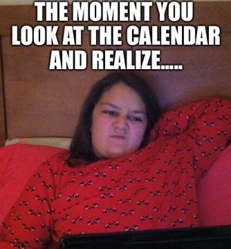 stank face calendar
